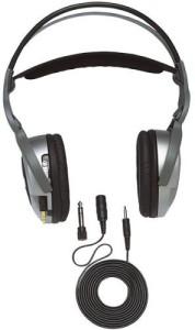 Jensen Retractable Open-Earpad Headphones Headphones