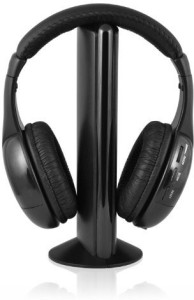 Ematic Eh156 Wireless Headphones And Transmitter Wired bluetooth Headphones