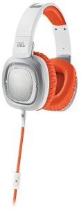 JBL J88A Wor Premium Over Ear Headphones With Drivers, Rotatable Ear Cups And Microphone, /Orange Headphones