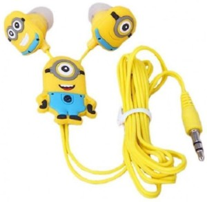 Kresto Minion Earphone Headphones