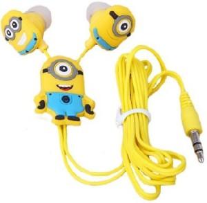 Happoz One Eye Minion Wired Headphones