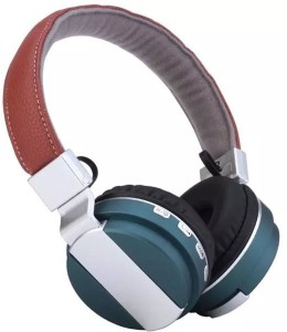 SG BT08-4 WIRELESS HEADPHONE WITH VOLUME & CALL ANSWER KEY/ MICRO CARD SLOT Wired & Wireless bluetooth Headphones
