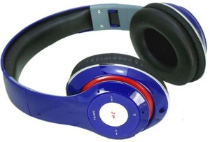 MSE Blue Bluetooth High Bass Stereo Dynamic Headphone_CQ3 Wired & Wireless bluetooth Headphones