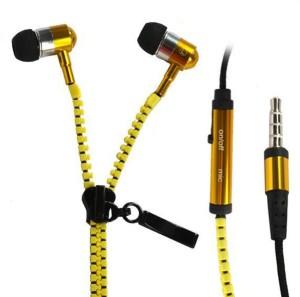 MobileCafe zipper Wired Headphones