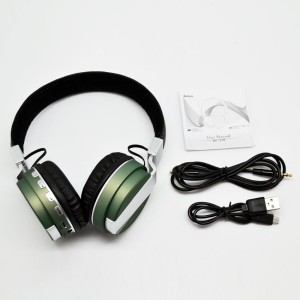 SG BT08-3 WIRELESS HEADPHONE WITH VOLUME & CALL ANSWER KEY/ MICRO CARD SLOT Wired & Wireless bluetooth Headphones