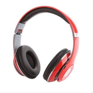MSE Red Bluetooth High Bass Stereo Dynamic Headphone_QA3 Wired & Wireless bluetooth Headphones