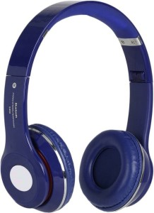 MSE Blue Plus Bluetooth High Bass Stereo Headphone_N3 Wired & Wireless bluetooth Headphones