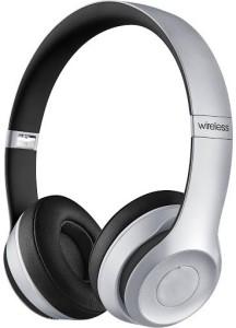 Bond Beatz Solo2 Silver High Quality Wireless bluetooth Headphones