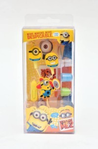 Pinglo MInions With Mic Edition Earphones DM-0214 Wired Headphones