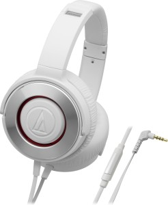Audio Technica ATH-WS550iS WH Wired Headphone
