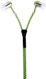 Destorm Green Zipper Headphones