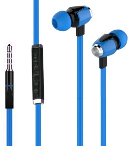 Joy METAL FINISH Universal HiFi Noise-Isolating High Bass In-Ear Piston Earphone with 3.5mm Jack , With Mic Wired Headset With Mic