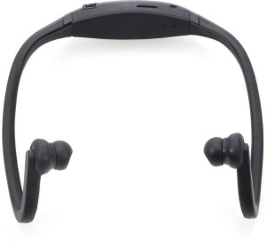 CheckSums 11825 S9 Ear Wireless Bluetooth Neck Band Headset with Mic & Memory Card Reader Wireless bluetooth Headphones