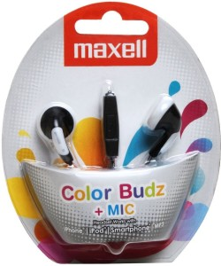 Maxell Maxell Wired Headphones