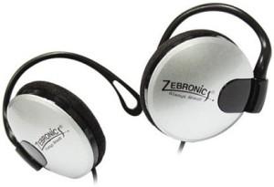 Zebronics EM1020 Silver Wired Headphones