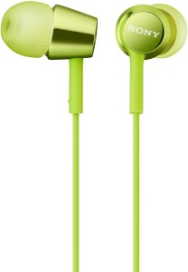 Sony MDR-EX150_Green Headphones
