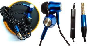 BSEnterprise BS Enterprise Powerful Base Earphone For Spice Smart Flo Mi-359 Wired Headphones