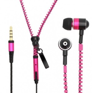 Quirky Zipper Headphones