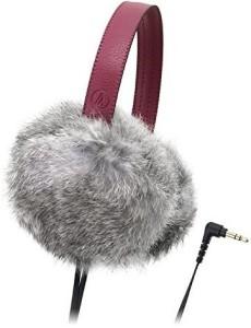 Audio Technica Dynamic Headphones Gray Ath-Fw55 Gy Headphones