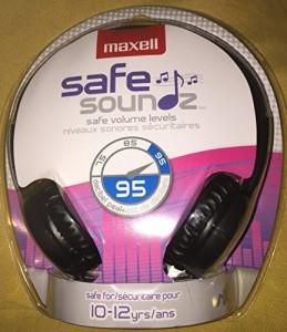 Maxell Safe Soundz Headphones - Black/ Headphone