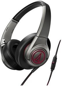 Audio Technica-Headphones Audiotechnica Ath-Ax5Is Sonicfuel Over-Ear Headphones (Gray) Headphones
