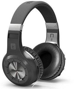 Bluedio H Plus Turbine Wireless Bluetooth 4.1 Stereo Headphones With Mic/Micro Sd Card Slot/Fm Radio (Black) Wired bluetooth Headphones