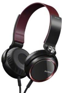 Sony Mdr-Xb400/R | Extra Bass Headphones (Japanese Import) Headphones