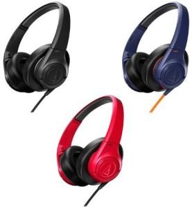 Audio Technica Audio Technica Athax3Nv Over-Ear Headphones, Navy Blue Headphones