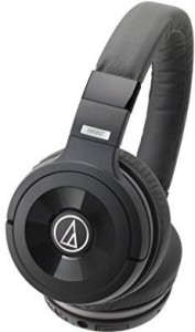 Audio Technica Ath-Ws99Bt Solid Bass Bluetooth Wireless Over-Ear Headphones With Built-In Mic & Control Wired bluetooth Headphones