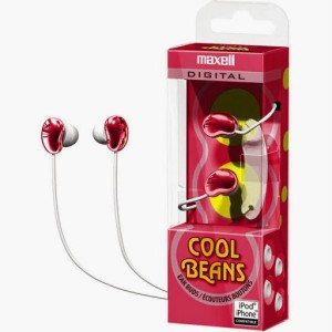 Maxell Cool Beans Wired Headphones