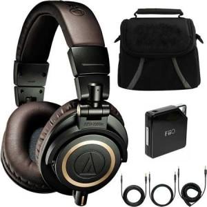 Audio Technica Ath-M50X Hunter Professional Headphones - Limited Special Edition Ultimate Bundle Headphones