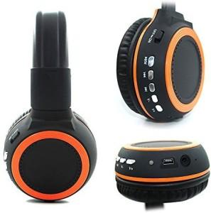 Ecandy Bluetooth Headphones With Microphone, Bluetooth Headphones With Microphone,Over Head - Headphones Bluetooth Built In Mic - Wireless Headphones Bluetooth Wired bluetooth Headphones