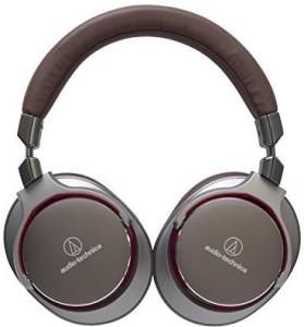 Audio Technica Ath-Msr7Gm Sonicpro Over-Ear High-Resolution Audio Headphones, Gun Metal Gray Headphones