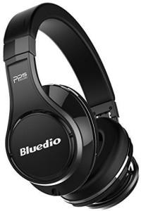 Bluedio U (Ufo) Premium High End Wireless Bluetooth Headphones With Mic (Black) Wired bluetooth Headphones