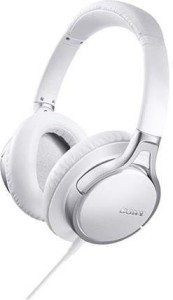 Sony Mdr-10Rnc Premium Noise-Canceling Over-Ear Wi Headphones With In-Line Remote, 6Hz-24Khz, 24Ohms At 1Khz Passive Mode Impedance, 40Mm Driver Headphone