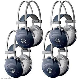 Akg K77 Studio Dj Headphone Closed-Back Headphone Pack Of 4 Headphones