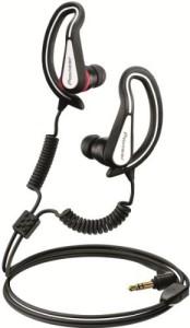 Summerland Pioneer Se-E721-K Fully Enclosed Sports Earphones - Black/ Headphones