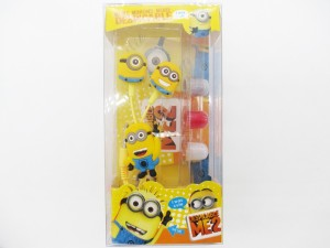 A Connect Z Minions Cartoon Design Good sound Base Ear Headst-184 Wired Headset With Mic