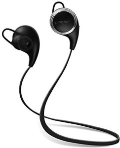 Innoo Tech Bluetooth Headphones Innoo Tech QY10 Update QY9 V4.1 Wireless Sport Headset Stereo Earbuds Sweatproof In-Ear Noise Cancelling Earphones Mic APT-X for iPhone 6 plus 5S 4S Galaxy Android Phones Headset with Mic