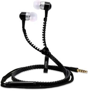 Pebble ZipBeat Tangle Free Zipper Headphones