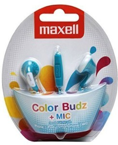 Maxell ColourBuds  Wired Headset With Mic