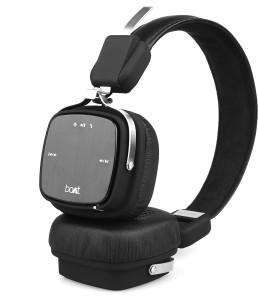 7a5f7e60f59 boAt Rockerz 600 Wired Wireless Bluetooth Headset With Mic Black Best Price  in India