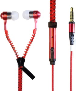 Wellcare Zipper Handfree For Samsung Galaxy S3 Wired Headset with Mic