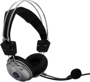 HashTag Glam 4 Gadgets Computer Headphone rophone Internet Chatting 1612 Wired Gaming Headset With Mic