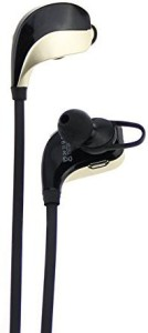 Awolf Awolf Sports Headset Wireless Bluetooth Earphone Stereo Sweatproof for Gym Running (Gold & Black) Headset with Mic