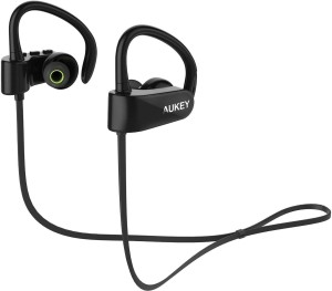 Aukey 4.1 Sport Wired Bluetooth Headset With Mic