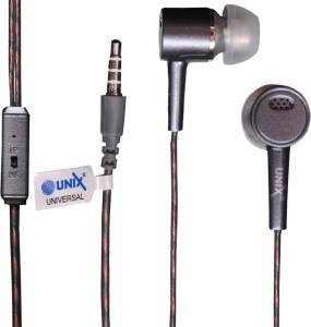 Unix ZINC Metal Series Universal HiFi Stereo HD Mic ultra-Bass In-Ear Beat Headphone Wired Gaming Headset With Mic