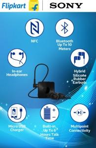 8e185d21d7b Sony SBH20 In the ear Headset Black Best Price in India | Sony SBH20 ...