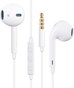 Being Desi Earphones/Headphones/Earbuds with Stereo Microphone&Remote Control for Apple iPhone 6S/6/6S Plus/6 Plus,iPhone SE/5S/5C/5, iPad /iPod Nano 7/iPod Touch (White) Wired Gaming Headset With Mic