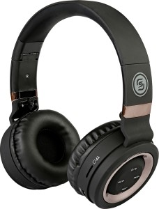 Sound One P-6 (Black/Copper) Wireless Bluetooth Gaming Headset With Mic